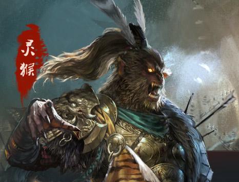 中国 战神/灵猴龙女玉狐 罗刹 神将牛魔